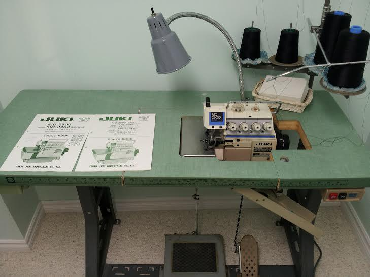 Juki Mo 2500 Industrial Serger Sewing Machine Nepean Ottawa