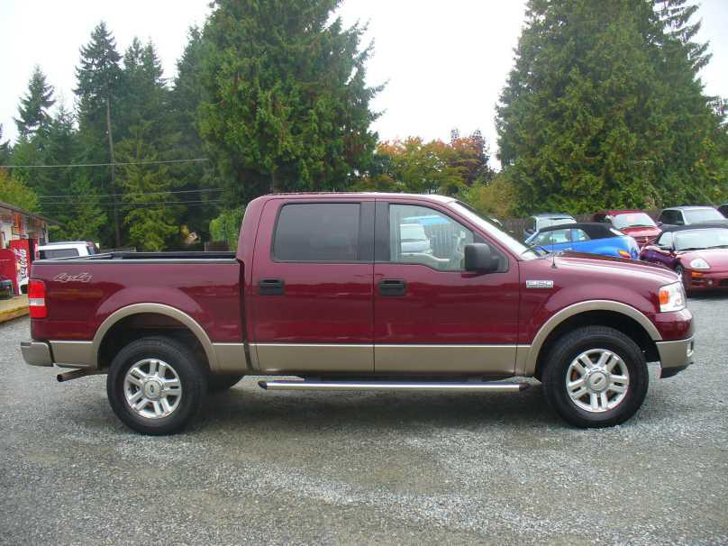 2004 ford f150 crew cab lariat leather malahat including shawnigan lake mill bay victoria. Black Bedroom Furniture Sets. Home Design Ideas