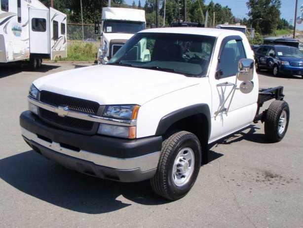 Chevrolet Silverado 2500hd Gatineau >> 2003 Chevrolet Silverado 2500HD Cab & Chassis 2WD Outside Nanaimo, Parksville Qualicum Beach