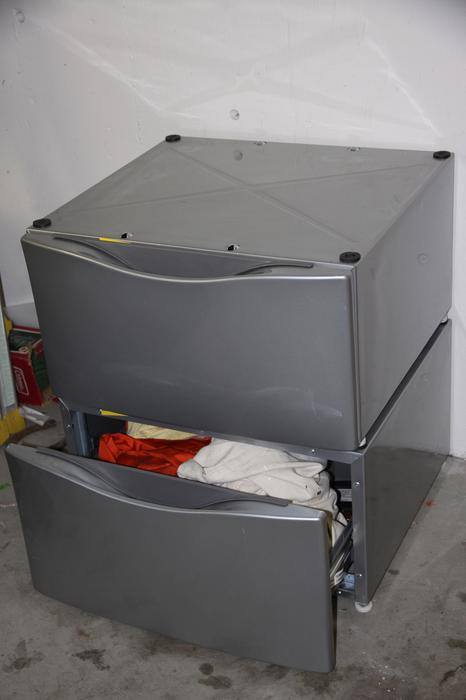 Whirlpool Drying Cabinet ~ Whirlpool washer dryer pedestals drawers victoria city