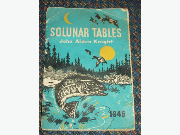 1946 solunar tables outside alberni valley ucluelet for Solunar fishing charts