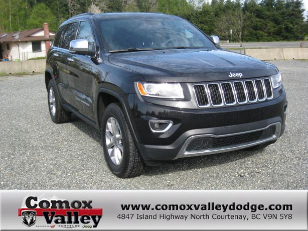 2014 jeep grand cherokee limited black outside victoria victoria. Black Bedroom Furniture Sets. Home Design Ideas