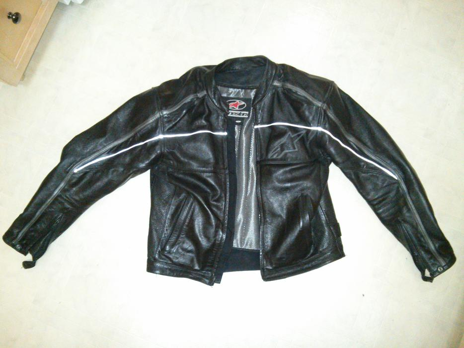 Alpine star leather jacket