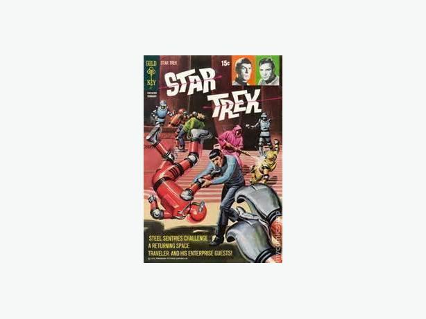 Star Trek, Our Fighting Forces, Magnus Robot Fighter, etc.