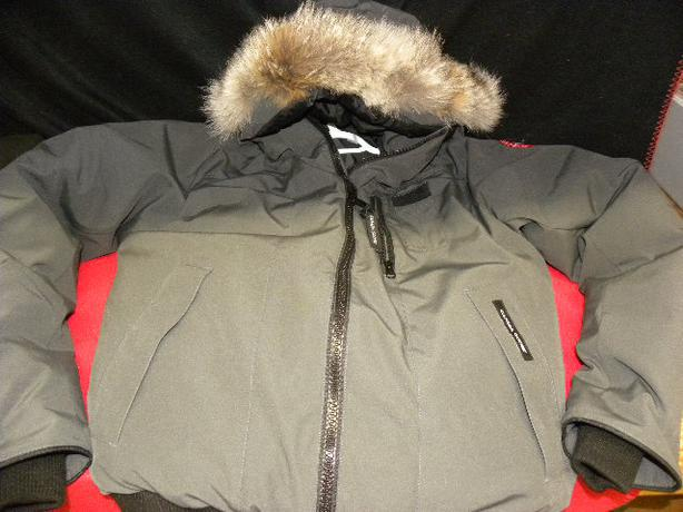 Canada Goose kids sale fake - Authentic Canada Goose Borden mens bomber jacket in mint condition ...