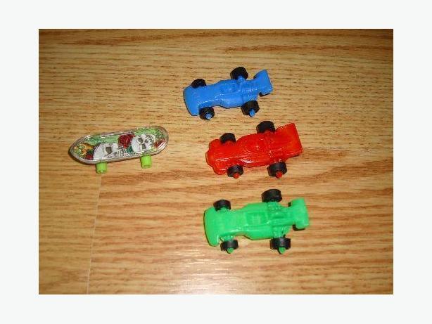 Like New Mini Cars and Skateboard Toy Set - $1