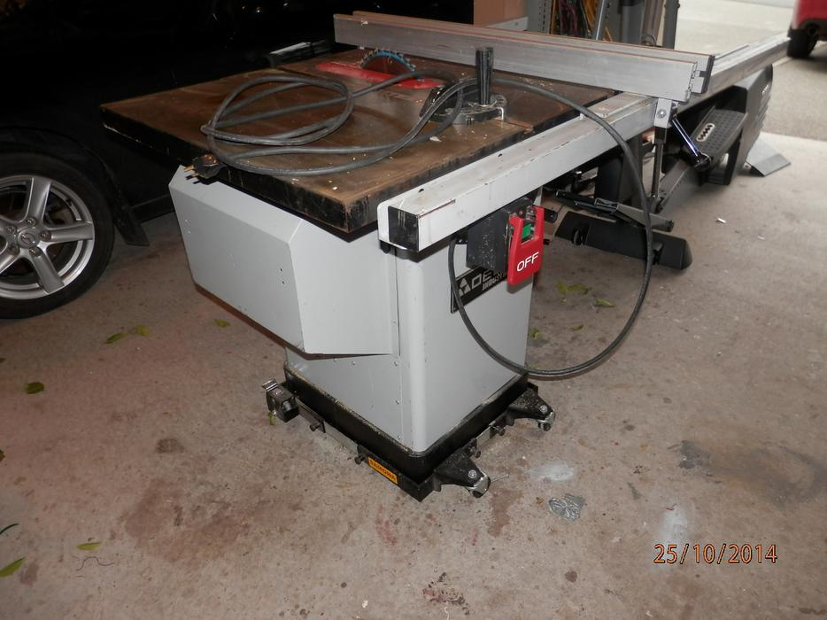 Delta Industrial Table Saw 10 Model 36 653c West Shore Langford Colwood Metchosin Highlands