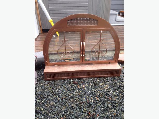 FREE Fireplace Screen And Blower Saanich Victoria