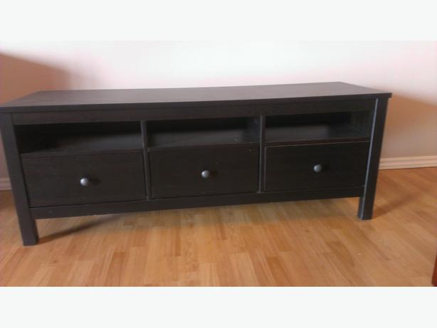 ikea hemnes tv stand victoria city victoria. Black Bedroom Furniture Sets. Home Design Ideas