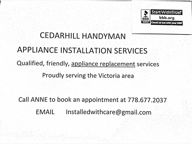 Dryer Installation Service : Appliance installation services no washer dryer service