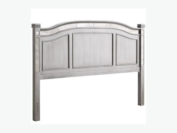 Pier One Hayworth Headboard Silver  Queen Size. Pier One Hayworth Headboard Silver  Queen Size Saanich  Victoria