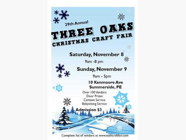 Three Oaks Senior High School Pei Craft Fair