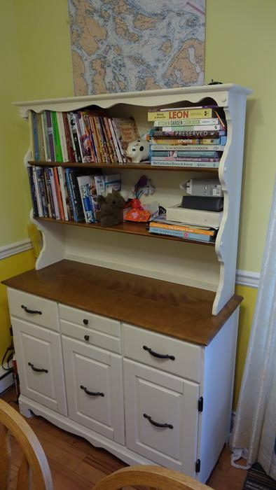 Used Victoria Kitchen Living Room Hutch