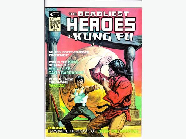 DEADLIEST HEROES OF KUNG-FU (one shot) - Marvel Comics / 1975