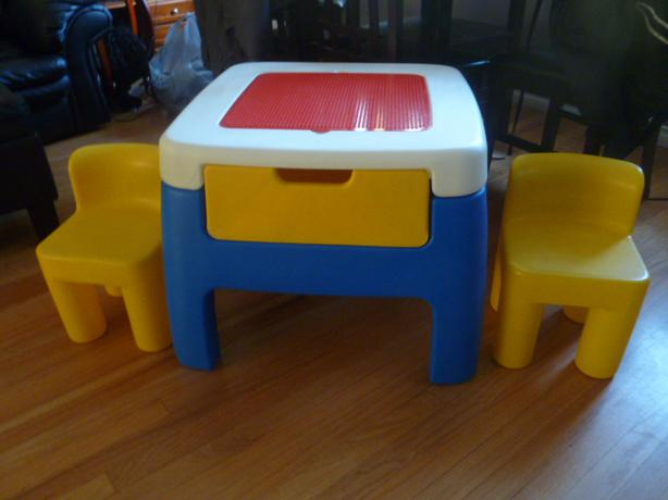 Log in needed 30 183 little tikes lego table and chairs