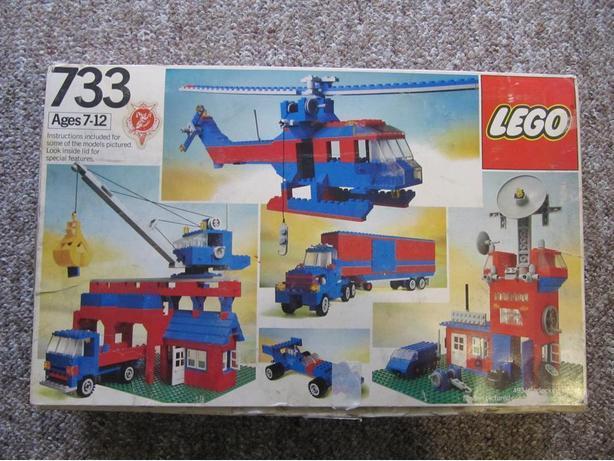 1979 lego universal building set 471 pieces plus four - Plus belle construction lego ...