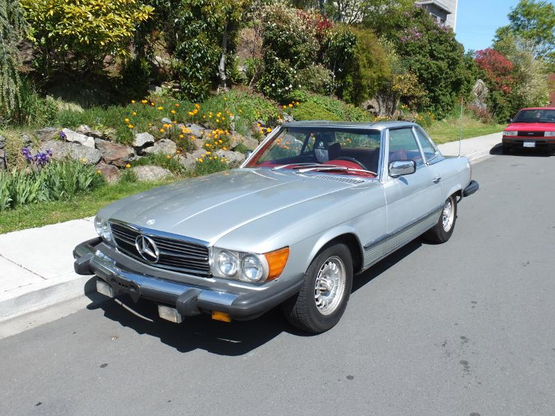 Mercedes benz 450sl roadster low kms esquimalt view for Mercedes benz bay ridge