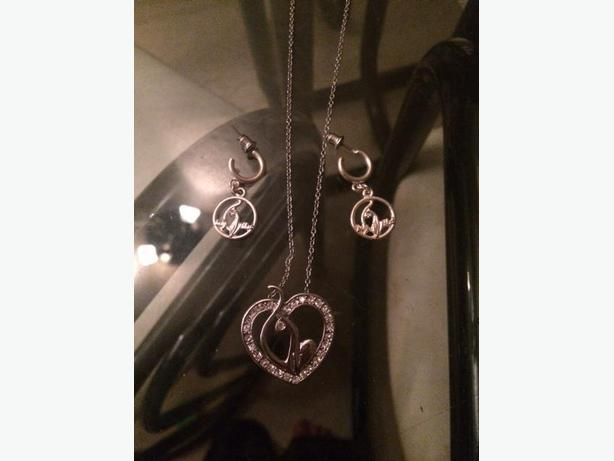 Brand New Baby Phat Necklace and Earrings