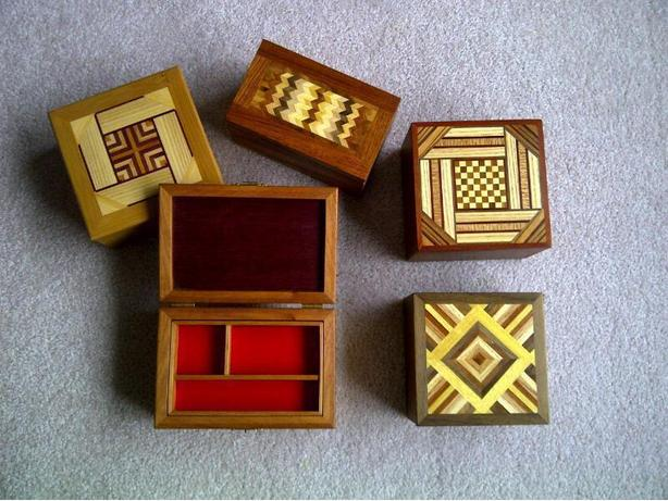 New Hand Made Jewelry Boxes