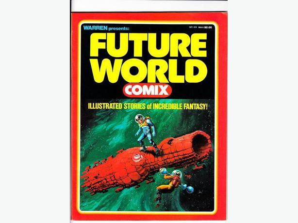 FUTURE WORLD COMIX - Warren Publishing / 1978