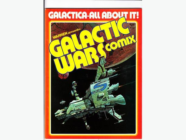 GALACTIC WARS COMIX - Warren Publishing / 1978