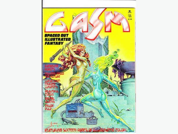 GASM (Black & White Sci-Fi Magazine) / 1977