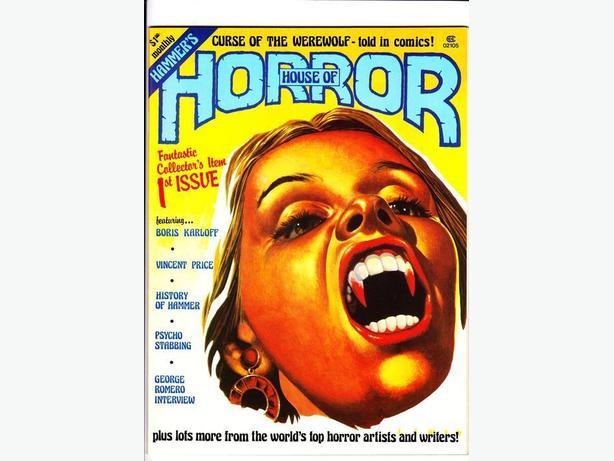 HAMMER'S HOUSE OF HORROR (Magazine) - Top Sellers Ltd. / 1978