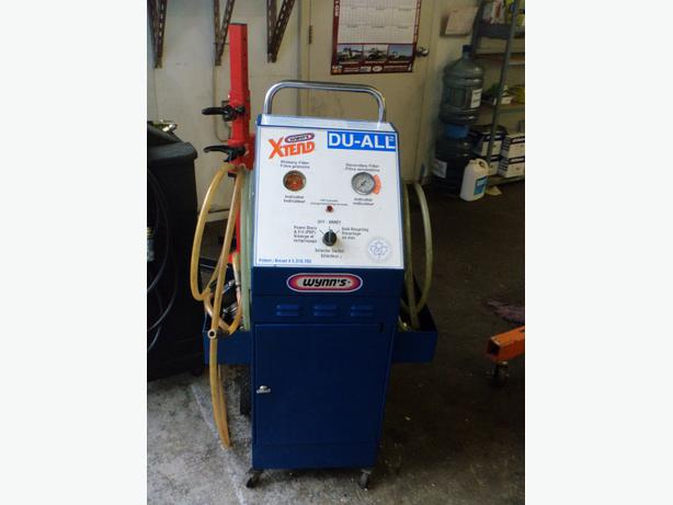 coolant flush machine