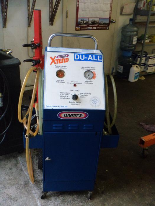 wynns coolant flush machine