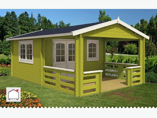 Ez Log Structure For Sale West Shore Langford Colwood