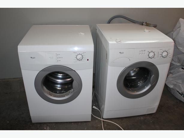 used stackable washer and dryer apartment sized outside victoria