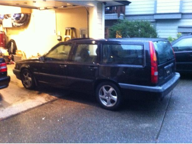 Parting Out 1996 Volvo 850 Turbo Wagon West Shore