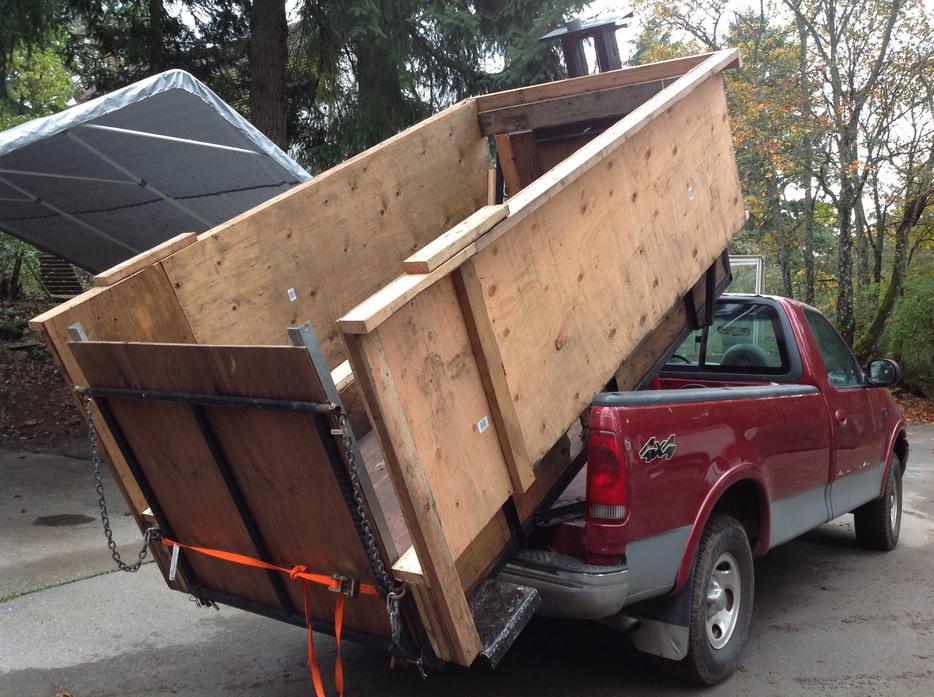 Maple Ridge Dump >> HYDRAULIC DUMP BOX INSERT West Shore: Langford,Colwood,Metchosin,Highlands, Victoria