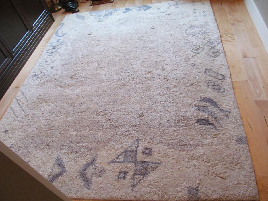 Berber Carpet Ivory With Pattern Parksville Nanaimo