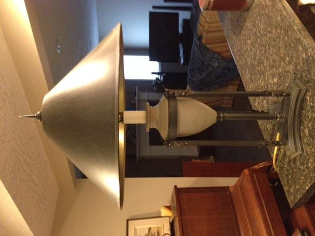 Black Beige Table Lamps Saanich Victoria