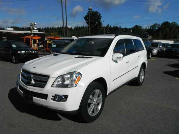 2007 mercedes benz gl class gl450 outside comox valley