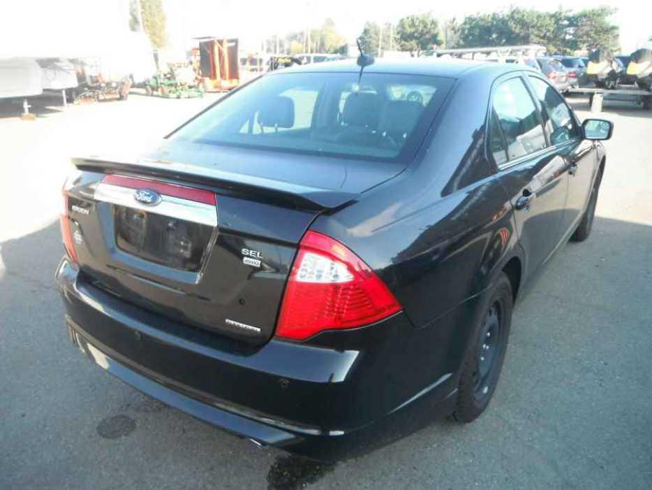Kitchener Ford Fusion  Leather Interior Black