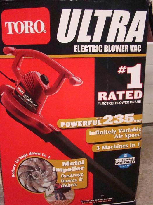 3 In 1 Toro Ultra Electric Leaf Blower Vacuum Mulcher