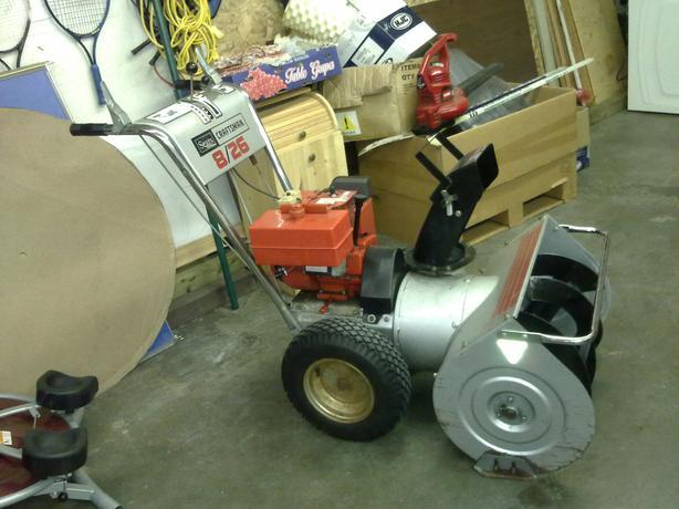 Used Tires Winnipeg >> Craftsman 8-26 snowblower Rural Regina, Regina