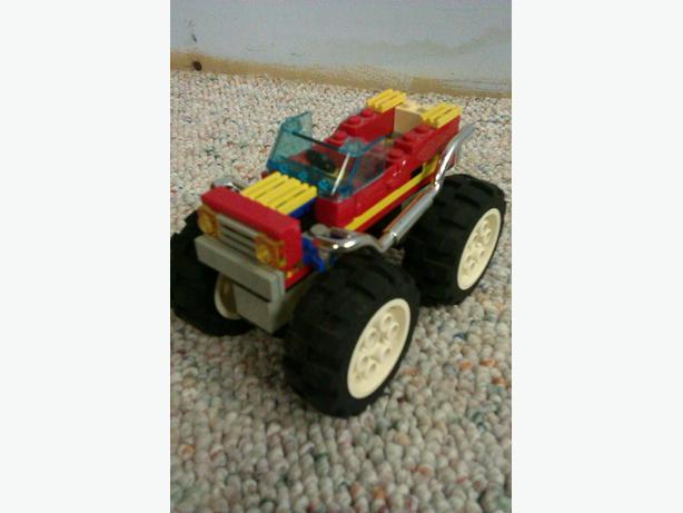 LEGO BIG WHEEL TRUCK