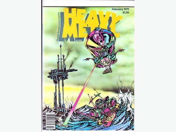 "HEAVY METAL (MAGAZINE) - ""High Grade Lot""  / 1979 - 1986"