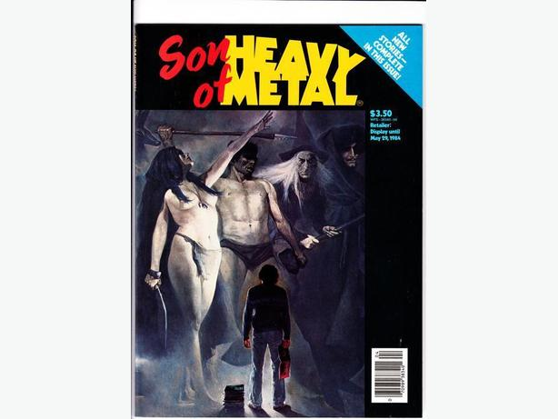 HEAVY METAL PRESENTS : SON OF HEAVY METAL / 1984