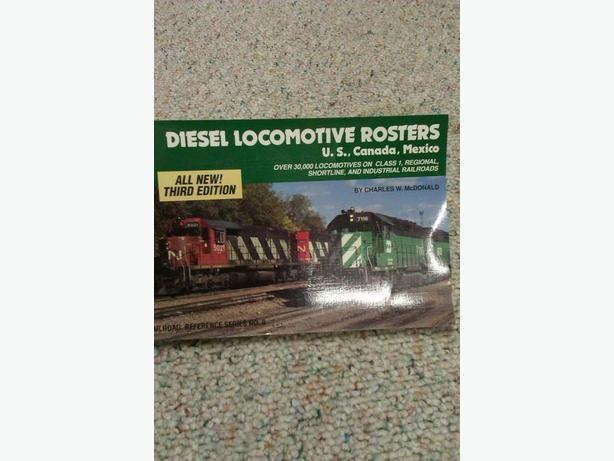 DIESEL LOCOMOTIVE ROSTER BOOK