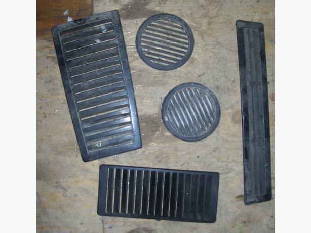 Yamaha ET250 ET340 hood vents grill