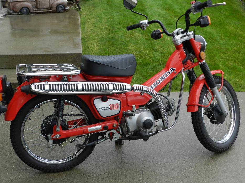 1983 Honda Ct110 Street Trail Bike Outside Metro Vancouver