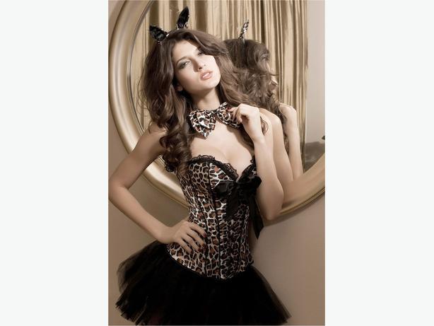 Deluxe Leopard Costume S/M