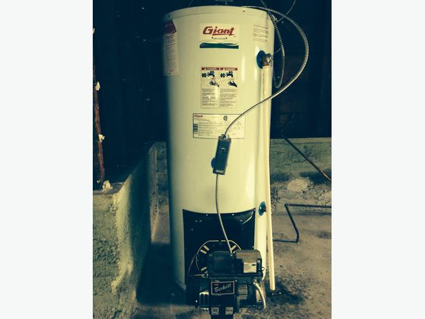 Oil Fired Hot Water Tank Victoria City Victoria