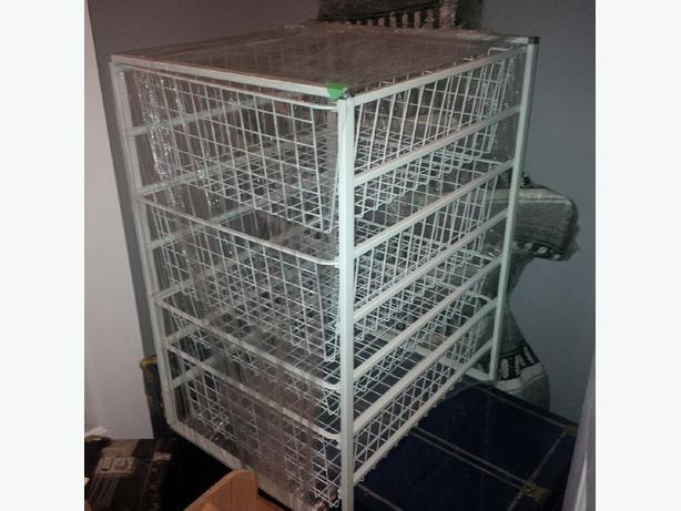 Closet Shelving Closet Organizer Drawers Wire Mesh