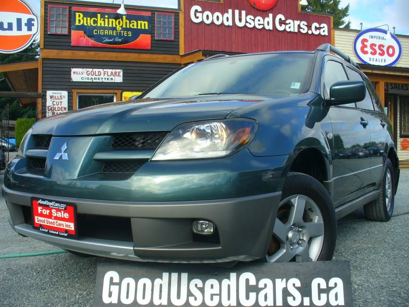 2003 mitsubishi outlander awd leather year end clearance. Black Bedroom Furniture Sets. Home Design Ideas