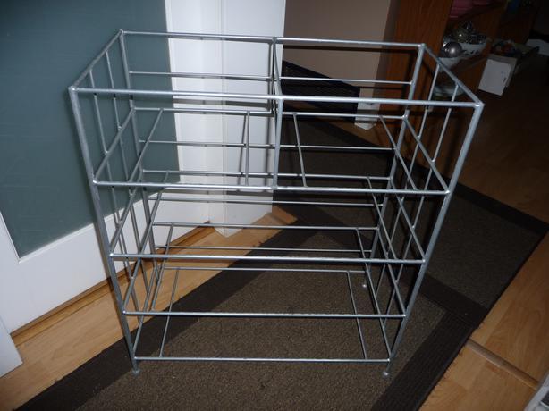 metal shelving unit for baskets central nanaimo nanaimo. Black Bedroom Furniture Sets. Home Design Ideas